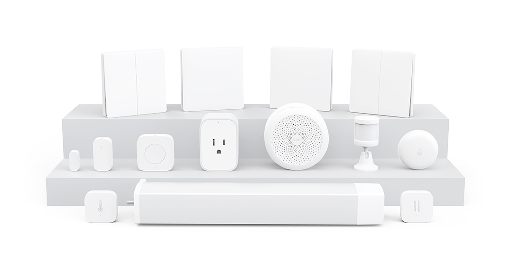 Works with Apple HomeKit – Aqara Hub
