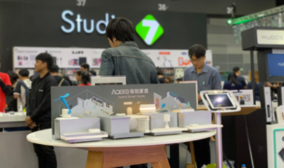 Aqara exhibited in Thailand Mobile EXPO in association with Studio 7