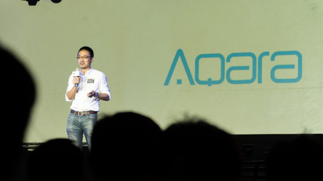 Aqara invited as keynote speaker at a joint-launching ceremony and now expands to Taiwan!